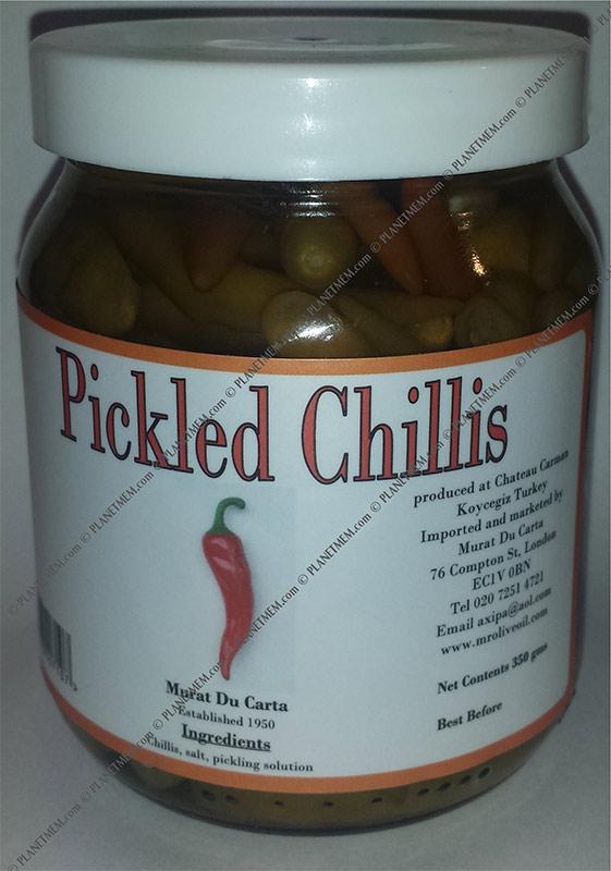 jar pickled chilli