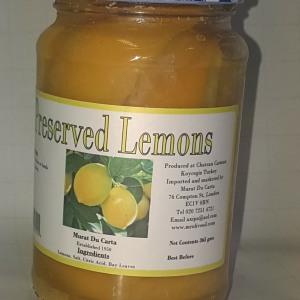 jar preserved lemons